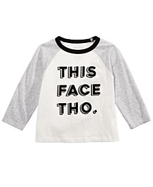 Baby Boys This Face-Print T-Shirt, Created for Macy's