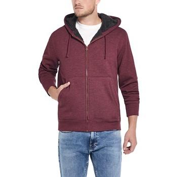 Weatherproof Vintage Men's Fleece-Lined Hoodie