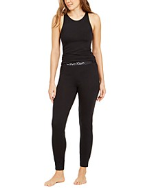 Women's Tank Top & Jogger Pants Pajamas Set
