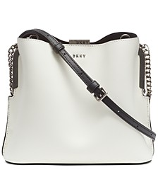 Farrah Leather Bucket Bag