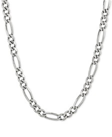 "Figaro 22"" Chain Necklace in Sterling Silver"