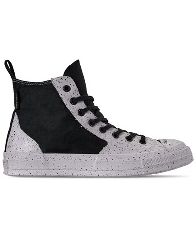 Converse GORE-TEX Rubber Chuck 70 Unisex Shoes (Black/Clear/White)