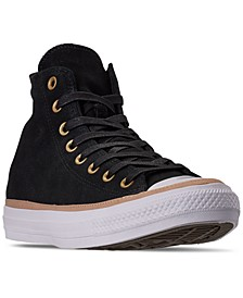 Men's Chuck Taylor All Star Vachetta High Top Casual Sneakers from Finish Line