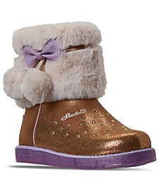 Little Girls Twinkle Toes Glitzy Glam Sparkle Sweet Boots from Finish Line