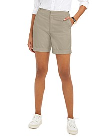 Twill Casual Shorts, Created For Macy's