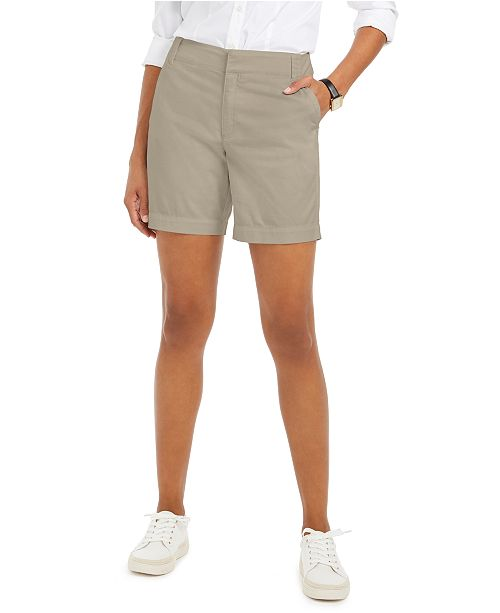 Charter Club Twill Casual Shorts, Created for Macy's