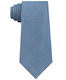 Men's Half Diamond Dot Slim Silk Tie