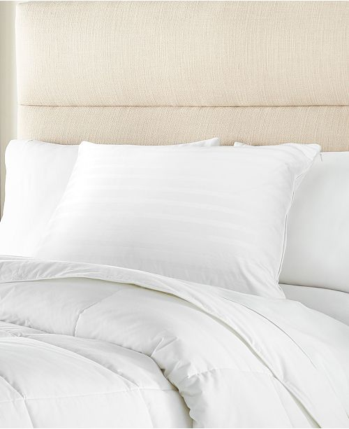 Charter Club 360 Down and Feather Chamber Pillow Collection, Created for Macy's