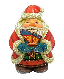 Butterfly Gift Giver Santa Figurine