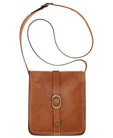 Patricia Nash Pouch Smooth Leather Crossbody