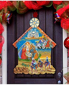 Up and Away Advent Calendar Free Standing and Wall Decor