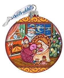 Christmas Ball Glass Ornament