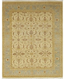 "CLOSEOUT! One of a Kind OOAK90 Flax 8'1"" x 10'3"" Area Rug"