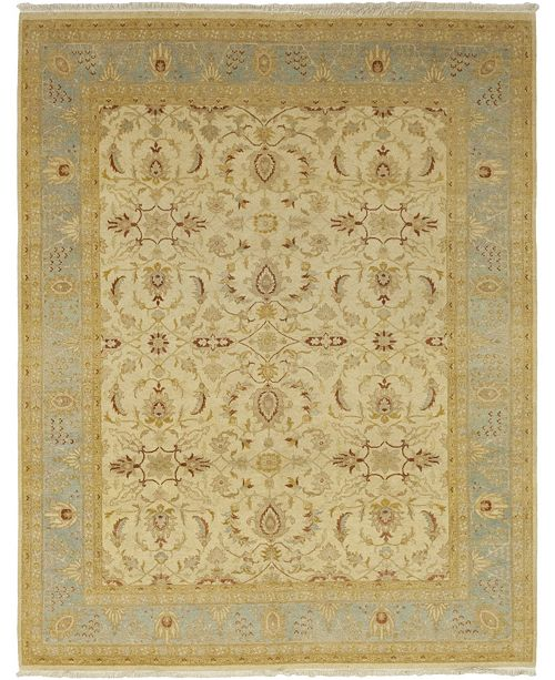 """Timeless Rug Designs CLOSEOUT! One of a Kind OOAK90 Flax 8'1"""" x 10'3"""" Area Rug"""
