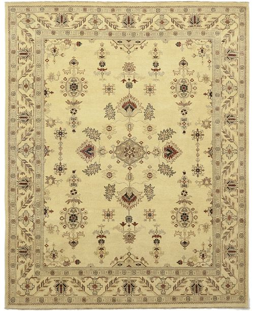 "Timeless Rug Designs CLOSEOUT! One of a Kind OOAK139 Cream 8'2"" x 10'1"" Area Rug"