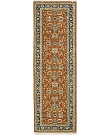 "CLOSEOUT! One of a Kind OOAK243 Tan 2'7"" x 8'2"" Runner Rug"