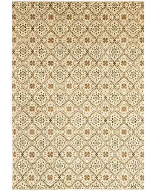 """Timeless Rug Designs CLOSEOUT! One of a Kind OOAK283 Beige 10' x 14'1"""" Area Rug"""