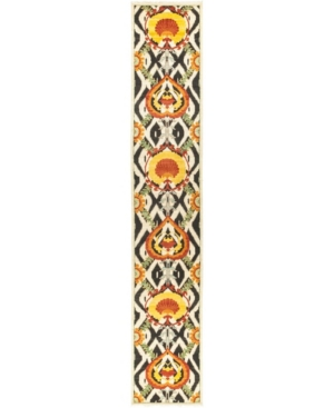"""Closeout! Timeless Rug Designs One of a Kind OOAK519 Yellow 2'6"""" x 14'10"""" Runner Rug Product Image"""