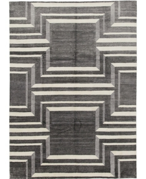 "Closeout! Adorn Hand Woven Rugs One of a Kind OOAK610 Slate 9' x 12'2"" Area Rug Product Image"