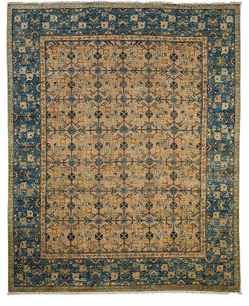 "Timeless Rug Designs CLOSEOUT! One of a Kind OOAK3795 Hazelnut 8' x 9'10"" Area Rug"