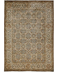 "CLOSEOUT! One of a Kind OOAK3656 Hazelnut 6'2"" x 8'7"" Area Rug"