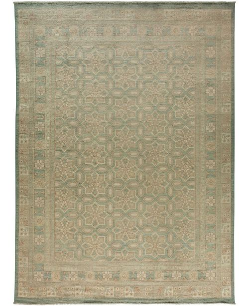 "Timeless Rug Designs CLOSEOUT! One of a Kind OOAK3599 Hazelnut 8'10"" x 12'1"" Area Rug"