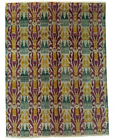 """CLOSEOUT! One of a Kind OOAK3989 Raspberry 7'10"""" x 10'3"""" Area Rug"""