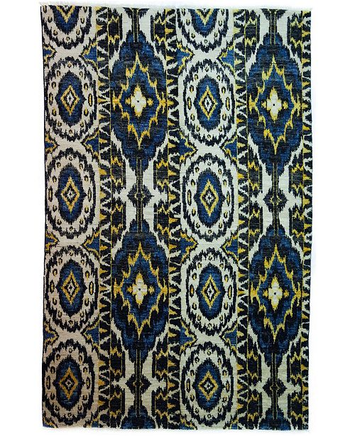 """Timeless Rug Designs CLOSEOUT! One of a Kind OOAK3975 Onyx 6' x 9'4"""" Area Rug"""
