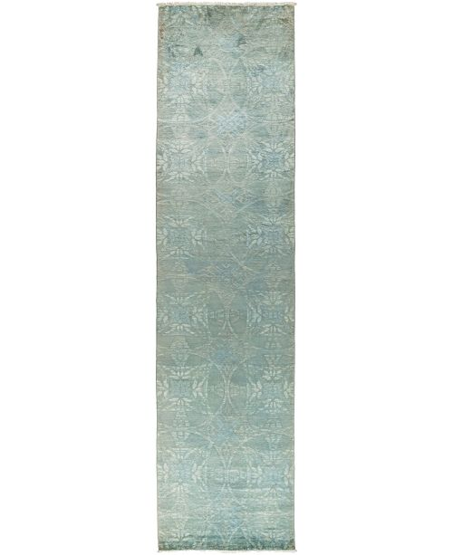 """Timeless Rug Designs CLOSEOUT! One of a Kind OOAK3084 Mint 3'2"""" x 14' Runner Rug"""
