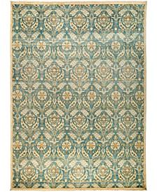 """CLOSEOUT! One of a Kind OOAK3016 Teal 10'2"""" x 13'10"""" Area Rug"""