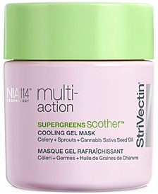 Multi-Action Supergreens Soother Cooling Gel Mask, 3.2-oz.