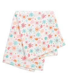 Floral Plush Baby Blanket