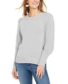 Puffy-Sleeve Sweater, Created for Macy's