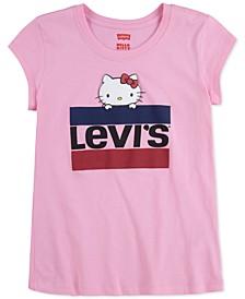 x Hello Kitty Toddler Girls Cotton Logo T-Shirt