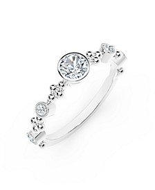 Tribute™ Collection Diamond (1/3 ct. t.w.) Ring in 18k Rose, White or Yellow Gold