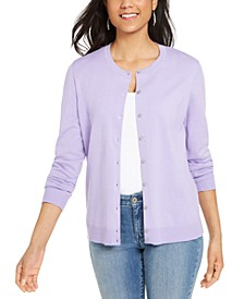 Crew-Neck Cardigan, Created for Macy's