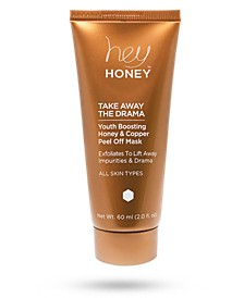 Take Away The Drama Youth Boosting Honey and Copper Peel Off Mask, 60 ml