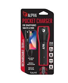 Electronics 2600 mAh Pocket Juice Charger Flashlight