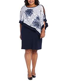 Plus Size Poncho Dress