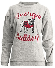 Women's Georgia Bulldogs Comfy Terry Sweatshirt