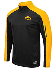 Men's Iowa Hawkeyes Promo Quarter-Zip Pullover