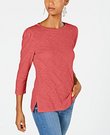 INC Petite Puff Sleeve Top, Created for Macy's