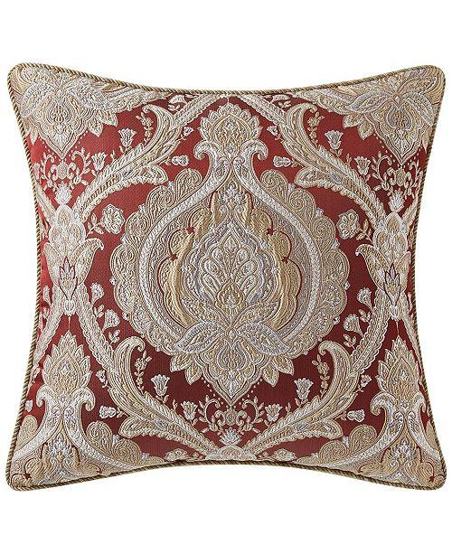 "Rose Tree Norwich Burgundy 18""X18"" Decorative Pillow"