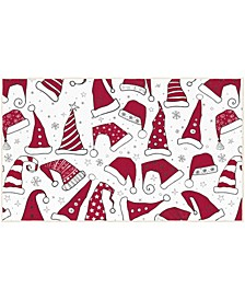Santa Hats Accent Rugs