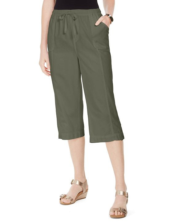 Karen Scott Capri Pull-On Pants, Created for Macy's