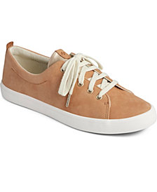 Sperry Women's Sailor Lace to Toe Leather Sneakers