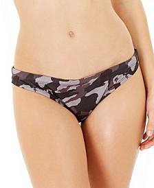 Camo Print Bikini Bottoms