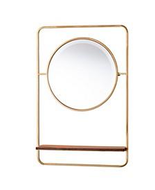 Edmund Entryway Mirror w/ Shelf