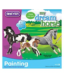 My Dream Horse Horse Family Painting Kit