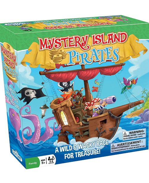 Outset Media Mystery Island Pirates Game - A Wild Wacky Race For Treasure